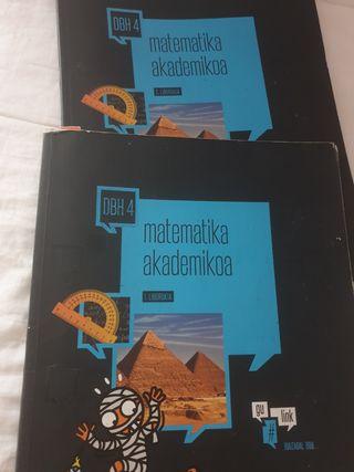 Libros matemáticas 4 dbh