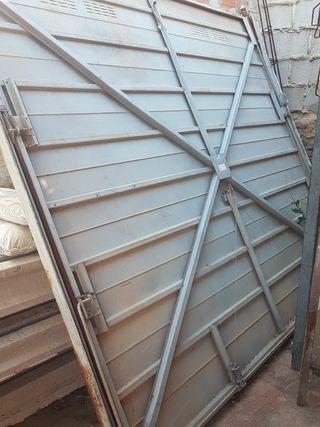 Puerta garaje basculante
