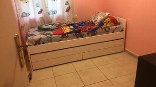 Cama nido ikea se vende sin colchónes