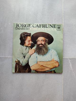 """Vinilo """"Virgen India"""" de Jorge Cafrune y Marito"""