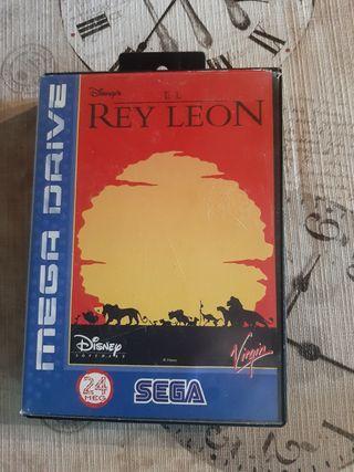 rey León sega megadrive