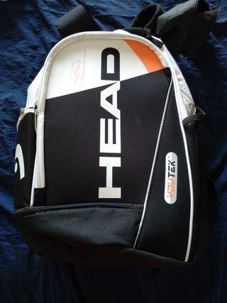 mochila raqueta tenis