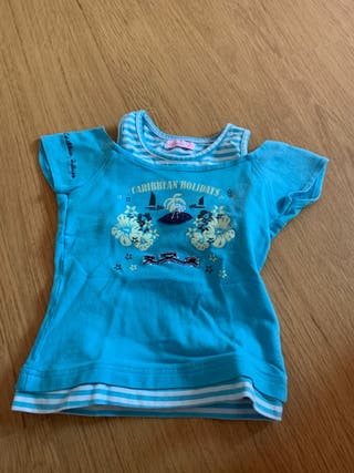 Camiseta 3 años niña.