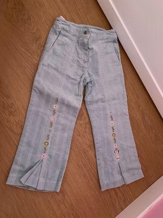 Pantalón Disney niña, talla 3 años .
