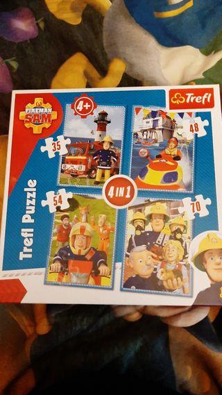 Puzzle Sam el bombero