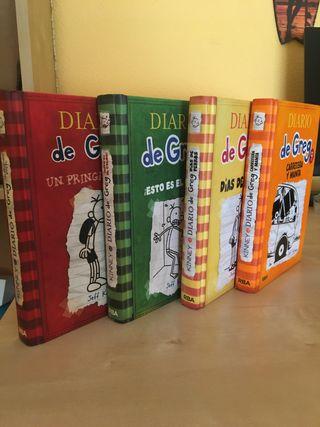 Libros Diarios de Greg
