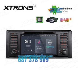 "RADIO GPS 7"" ANDROID 9.0 HEXA-CORE DVD HDMI BMW SE"