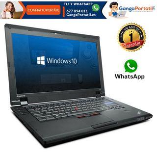 """Portátil Lenovo L512, i5/15,6""""/8Gb Ram/Win10 Grati"""