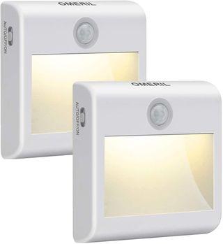 Luz Nocturna con Sensor de Movimiento (2 Piezas)