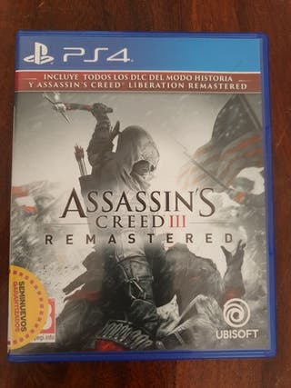 ps4 assessins creed 3