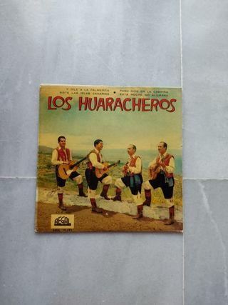 """Discos de vinilo """"Los Huaracheros"""""""