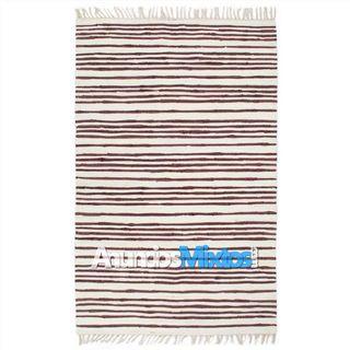 Alfombra hecha a mano Chindi algodón 200x290cm bor