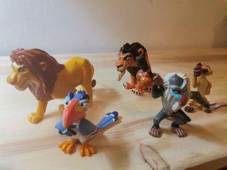 Figuras pvc el rey león