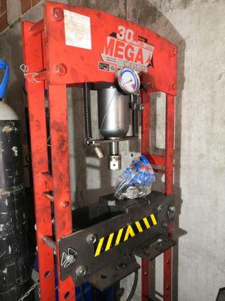 Prensa Hidraulica 30 Ton Mega KMG-30