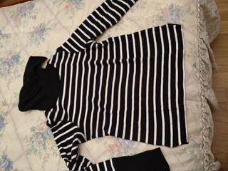 Jersey rayas negro yblanco