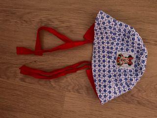 Gorro Minnie Disney niña 2 años.