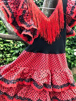 Pack de 2 disfrazes de chulapa y flamenca infantil