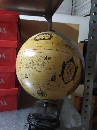 bola del mundo lampara