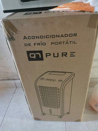 acondicionador de aire frio portátil