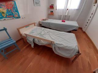 Cama niños Ikea con colchón 70x160