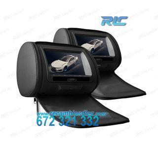 REPOSACABEZAS MULTIMEDIA 7 PULGADAS HD USB SD COLO
