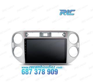"""RADIO GPS 2DIN HD 9"""" WIFI 4G ANDROID 7.1 VW TIGUAN"""