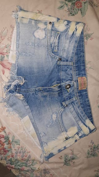 shorts tejanos mujer