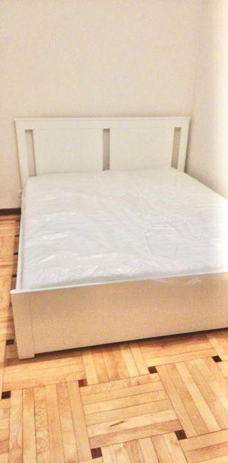Cama de Ikea 160x 200 más colchón