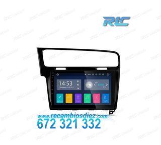 "RADIO GPS 10"" TÁCTIL VW GOLF VII ANDROID 8.1 HDMI"