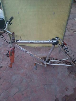 Cuadro bicicleta simano