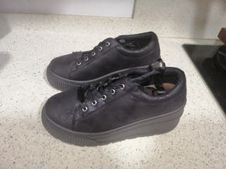 zapato tipo bamba