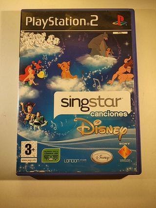 SingStar canciones Disney PlayStation 2 / PS2