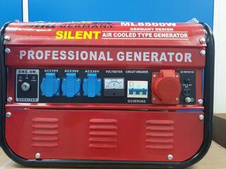 Generador eléctrico de 6500watts silencioso
