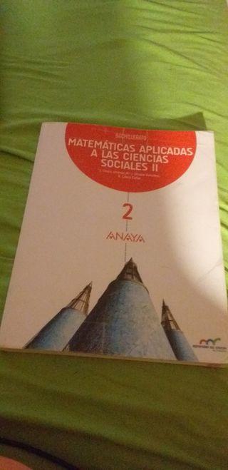 Matemáticas Ciencias sociales 2 Bachillerato