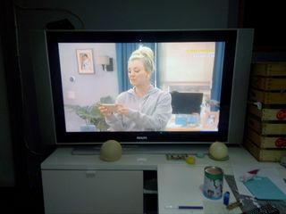 """tv 42"""" philips de plasma(30 min y la quito)"""