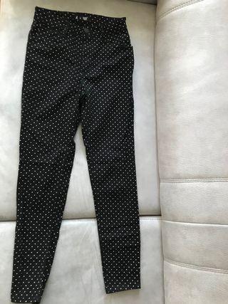 Pantalón de lunares para chica