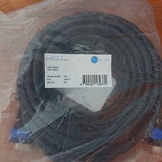 CABLE VGA -VGA 10 METROS A ESTRENAR