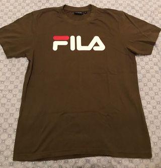 Camiseta Fila M Verde