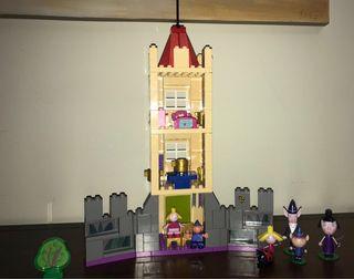 Castillo Ben y Holly construcción.