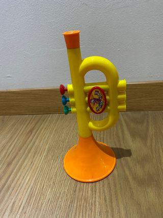 Trompeta niños juguete