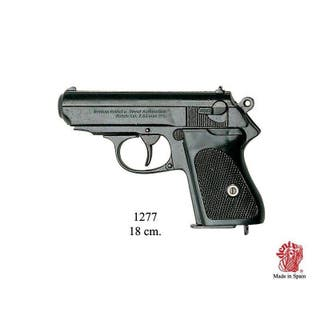 1277 Pistola semiautomatica alemana James... r1277