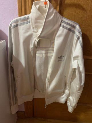 Chaqueta Adidas blanca