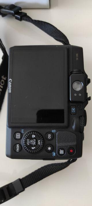 Cámara semiprofesional Canon PowerShot G16