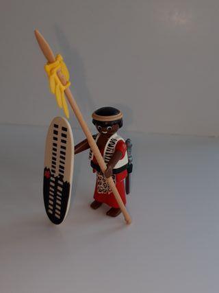 Guerrero masai playmobil