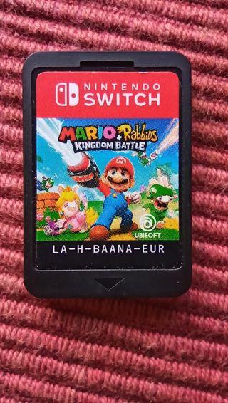 mario + rabbids. Kingdom battle. Nintendo Switch