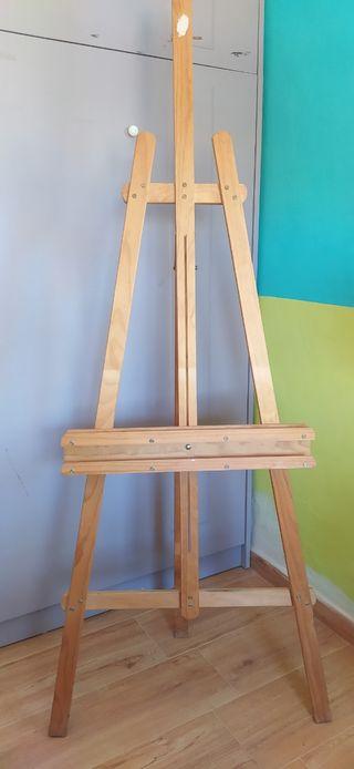 Caballete pintura tripode