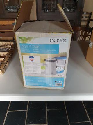 Depuradora Intex en buen estado
