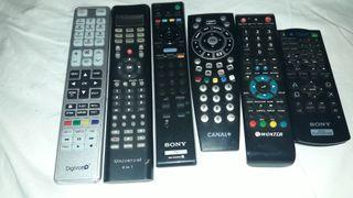 mandos de television