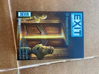 Juego de escape. El museo misterioso EXIT