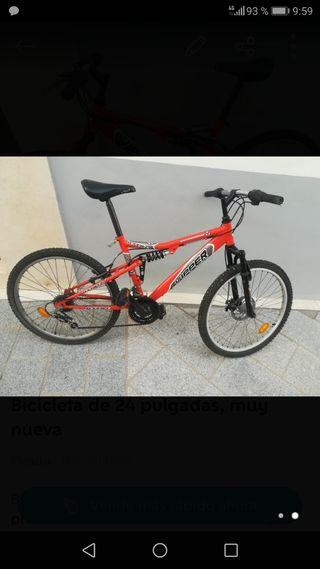 RECOGIDA Hoy 14/08.Bicicleta de 24 pulgadas